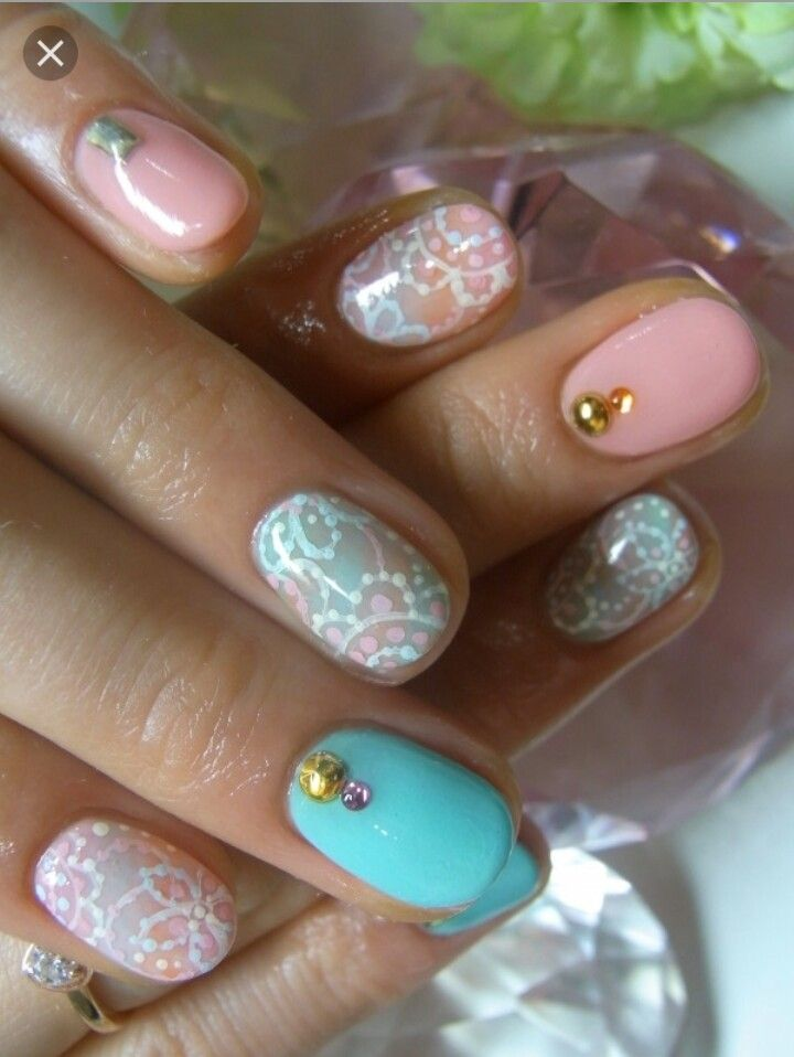 438 best nail ideas images on pinterest nail ideas acrylic new girly nail art ideas for summer a perfectly polished manicure is the new statement accessory on and off the red carpet draw inspiration from these prinsesfo Choice Image