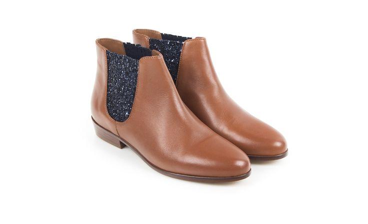 chelsea boots cognac la feerique bobbies inspi nouvelles. Black Bedroom Furniture Sets. Home Design Ideas