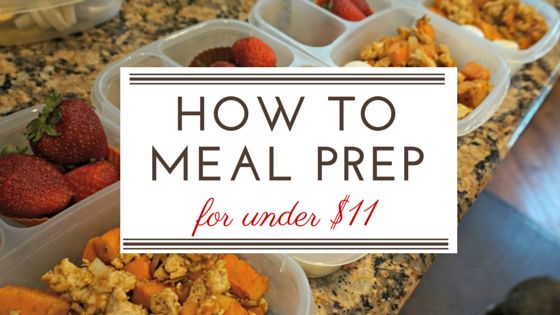 How to Meal Prep Breakfast for a Week for less than $11. You get 5 days of…