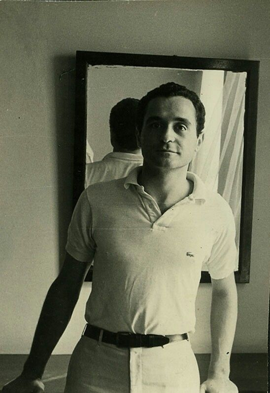 John Giorno, Hotel Chelsea, room 703, August 31, 1965. Photo by Brion Gysin.