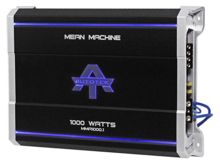 Autotek MMA1000.1 1000 Watt @ 2 Ohm Mono Car Audio Amplifier Amp + Bass Remote | Consumer Electronics, Vehicle Electronics & GPS, Car Audio | eBay!