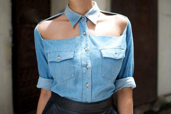 Comment customiser sa chemise en jean