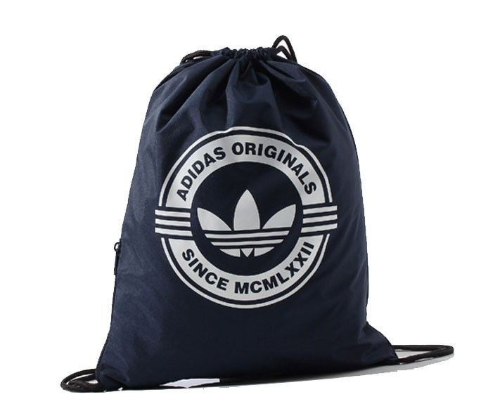ADIDAS BAG GYMSACK - navy visit us at : http://wearhouse.gr/female/accessories-female/bags-female-accessories/adidas-bag-gymsack-navy-aa2436