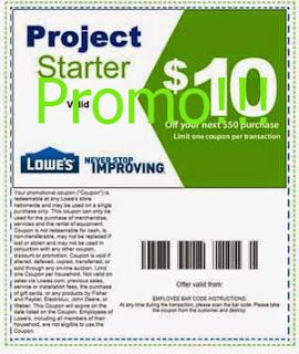 free Lowes Home Improvement coupons