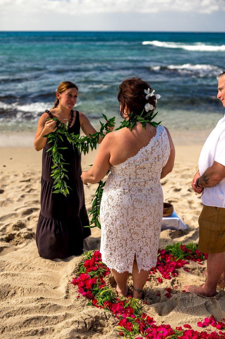 Kona Hawaii Big Island Elopement Beach Wedding With Kona