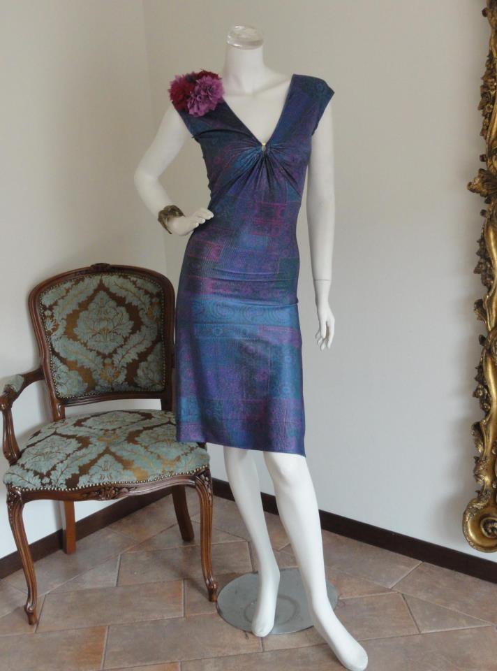 dress made by Stefania Caragea