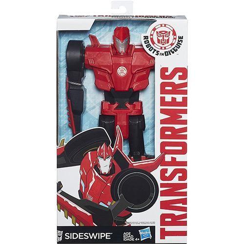 Boneco Transformers Mv4 Titan Hero Optimus Prime + Transformers Titan Hero…