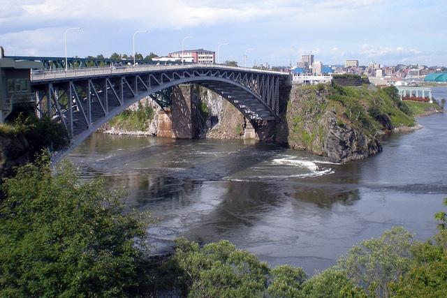 Reversing Falls, Saint John, New Brunswick