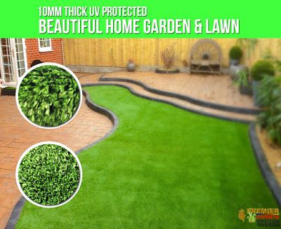 Beautiful Synthetic Lawn : Beautiful Home Garden & Lawn UV Protected click th...