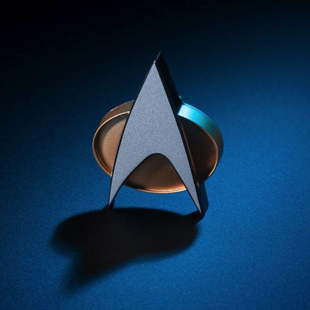 GeekWire Picks: Star Trek TNG Bluetooth ComBadge works with Siri Google Now Cortana