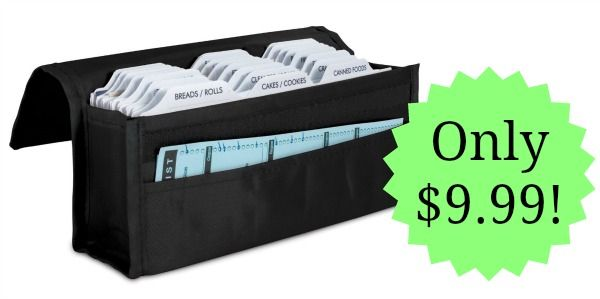 Expandable Coupon Organizer Only $9.99!