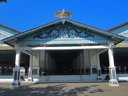 Pagelaran Sasana Sumewa, Keraton Surakarta, Indonesia