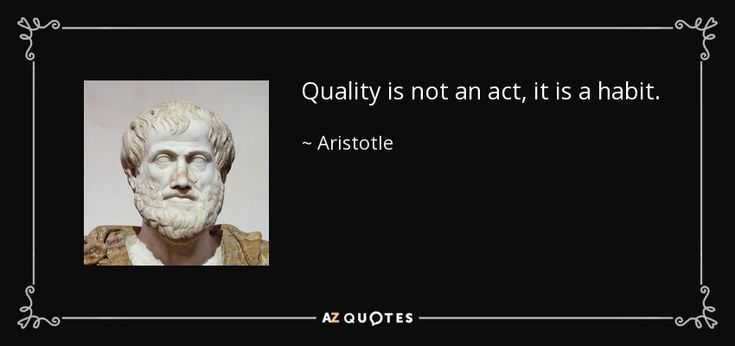 32 Best Images About Aristotle Quotes On Pinterest: 1000+ Habit Quotes On Pinterest