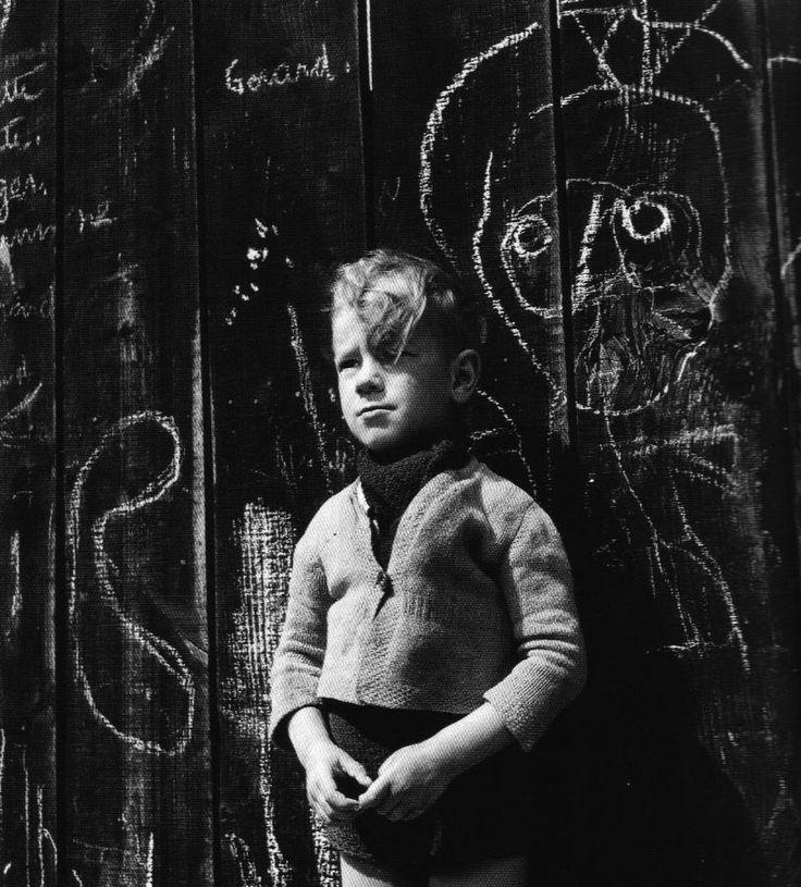 """Izis Bidermanas - Montmartre,Paris,1949. Photo from the book """"Paris des Rêves"""", 1950."""