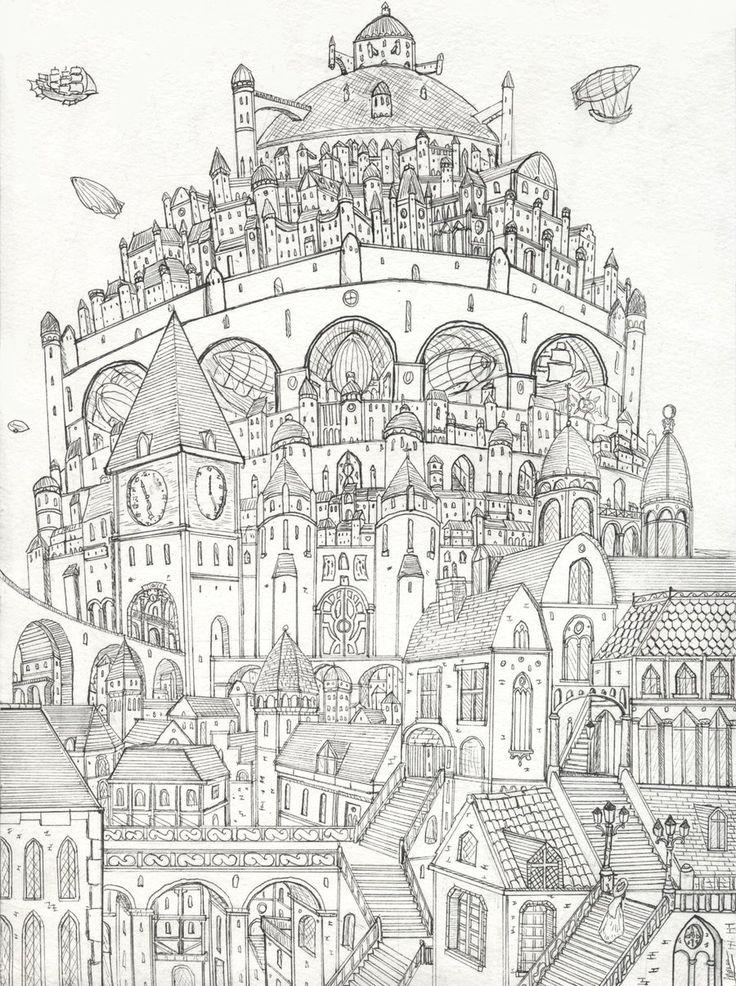newnew city by lordoffog deviantART