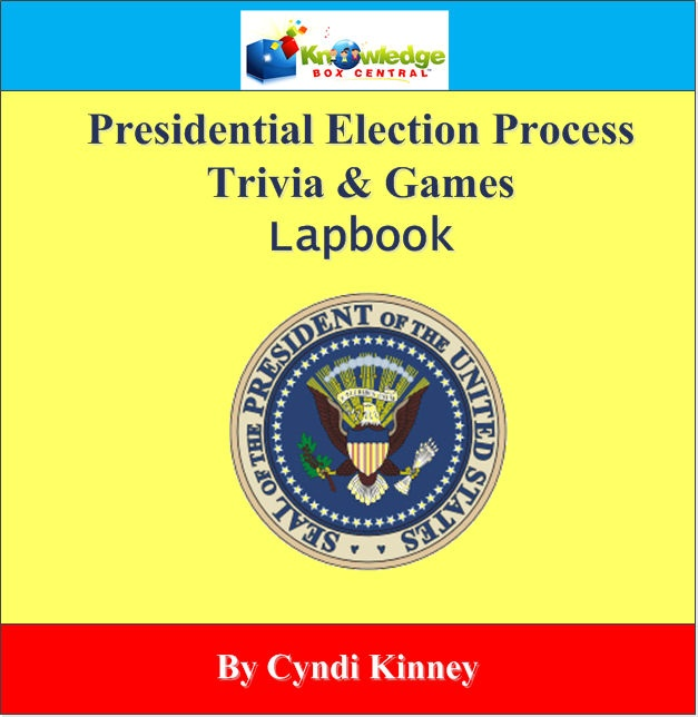 Presidential Election Games & Trivia Lapbook - ALL Ages