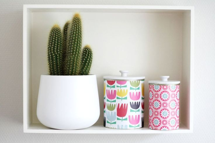 DIY – Upcycled tins with lids! | By Wilma