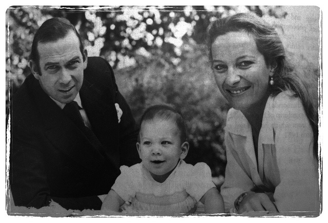 Prince and Princess Michael of Kent with Lord Frederick Windsor by Mig_R, via Flickr