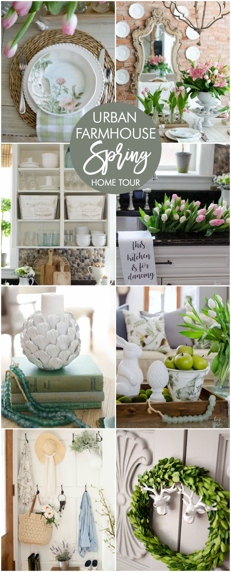 Modern Farmhouse Spring Home Decor Ideas: 350 Best Spring Decor Images On Pinterest