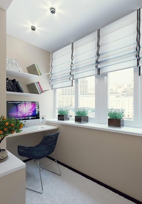 Idei geniale sa-ti transformi balconul in propriul birou. #apartamente #Isaran #Brasov