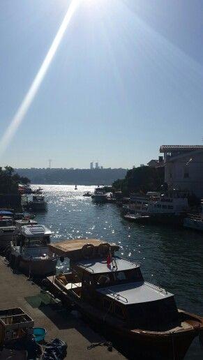 Küçüksu ' dan İstanbul Boğazı