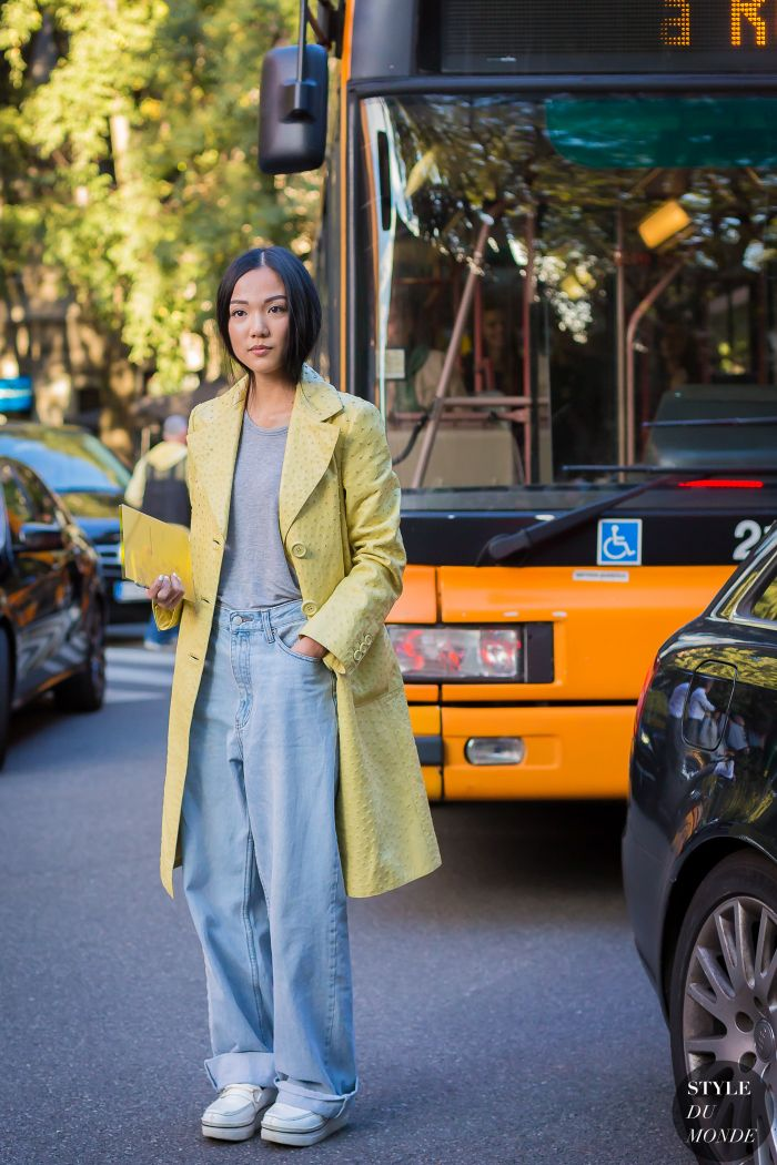 Milan Fashion Week SS 2016 Street Style: Yoyo Cao