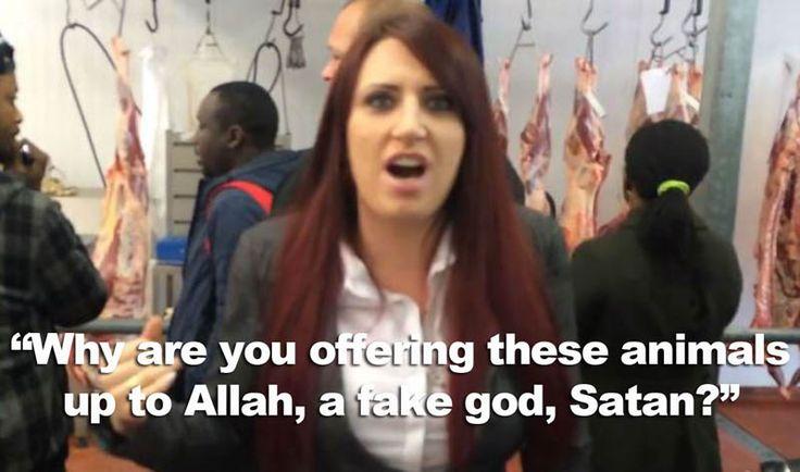"""Christian"" Britain First Goons Invade Halal Meat Facility, Say Muslims Sacrifice Animals to Satan."