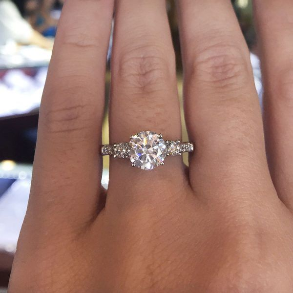 Verragio Classic-917R7 0.45ctw Diamond Engagement Ring Setting