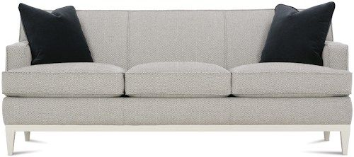 Ryder Contemporary Sofa With Exposed Wood Detail By Rowe