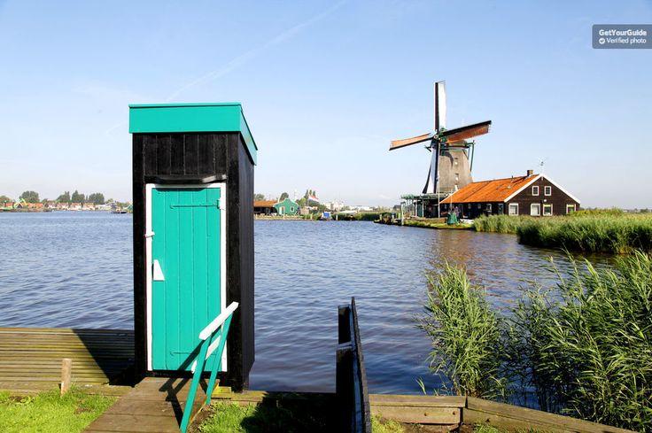 Volendam, Marken et moulins à vent depuis Amsterdam