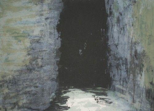 Gwen O'Dowd: Spaces 6, carborundum,  €780