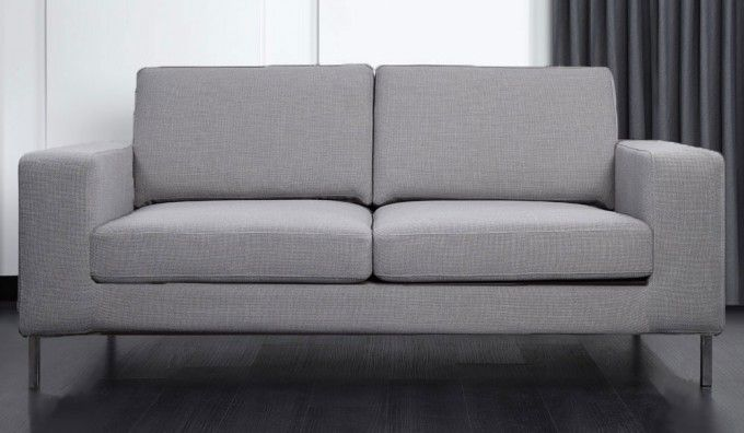 Cool Cosmos 3 Seater Sofa The Cosmos 3 Seater Sofa consists of a contemporary style with foam and fibre cushions for ultra fort The modern features such as Beautiful - Contemporary 3 cushion sofa Lovely