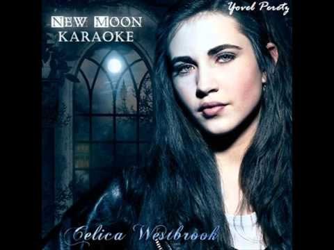 Celica Westbrook - New Moon - Karaoke - YouTube