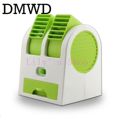 [Visit to Buy] DMWD MINI Cooling Fan Portable Desktop USB small Air Conditioner fans Cooling Desk Conditioning cooler summer Ventilador gift #Advertisement