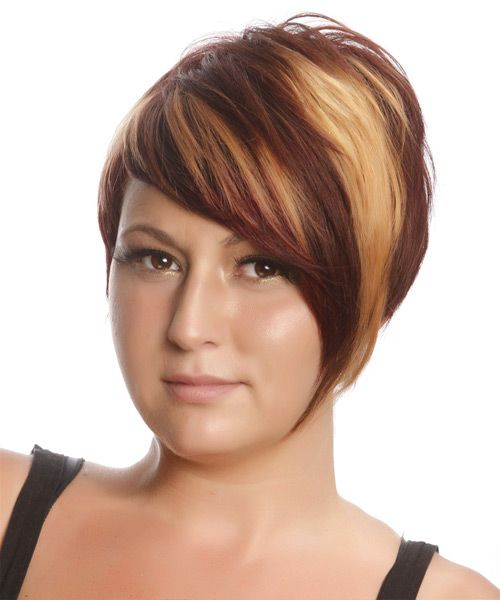 Short Hairstyle - Straight Casual - Medium Red | TheHairStyler.com