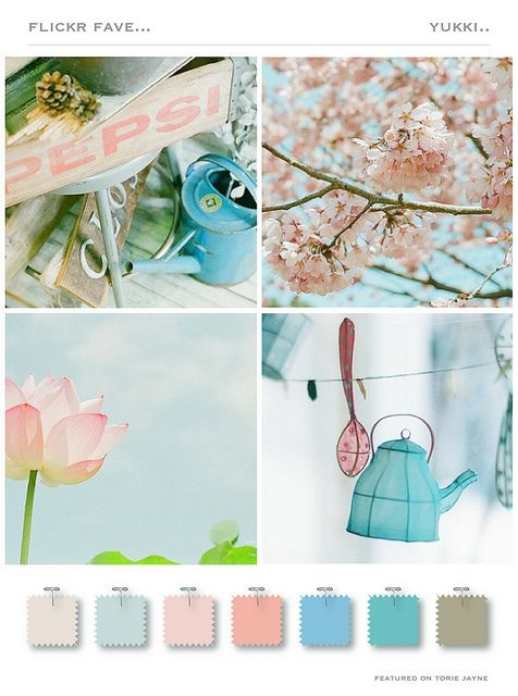 Yukki by toriejayne, via Flickr LOVE this color combination