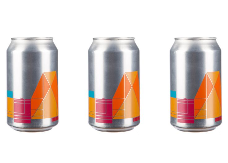 Peter Saville has adapted his graphic identity for the Tate Modern into a new Switch House beer can.