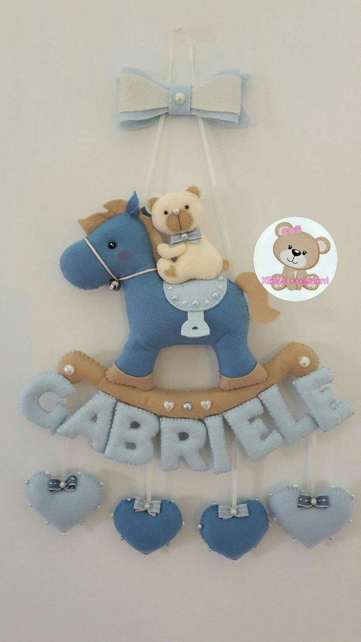 https://m.facebook.com/XENIA-creazioni-1413280015640861/ Fiocco nascita personalizzabile. Interamente fatto a mano. Birth ribbon personalized.
