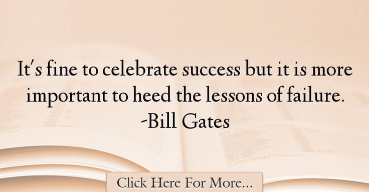 Bill Gates Quotes About Failure - 18311