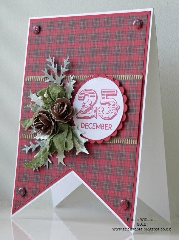Craftwork Cards Blog: 25 December by Emma Williams