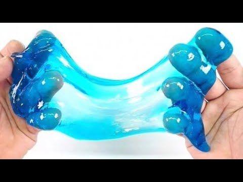 WASSER SLIME Rezepte OHNE KLEBER aus Wasser im TEST! - YouTube