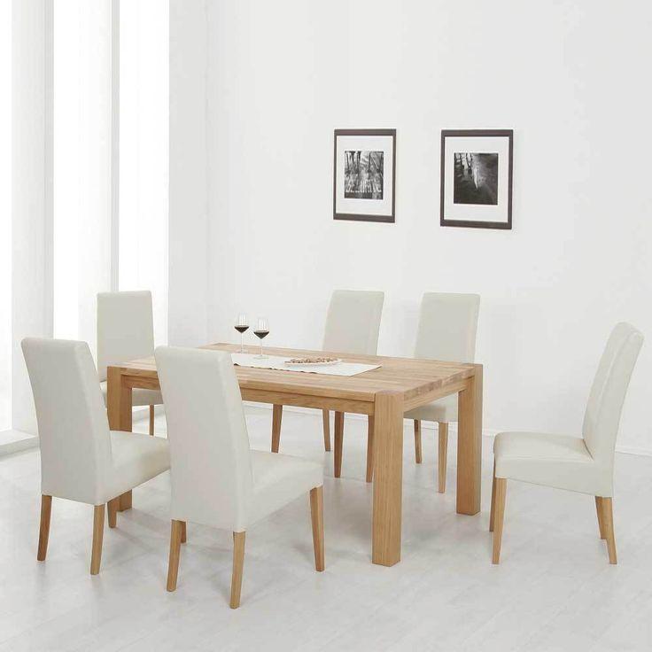 Sitzgarnitur Küche | Die Besten 25 Esstisch Mit 6 Stuhlen Ideen Auf Pinterest Wand