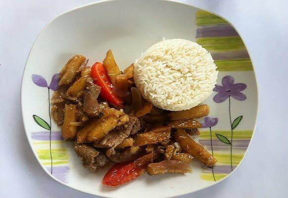 Cómo preparar lomo saltado peruano - receta fácil | CocineroPeru