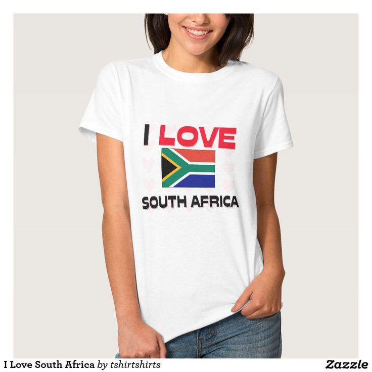 I Love South Africa Tee Shirt