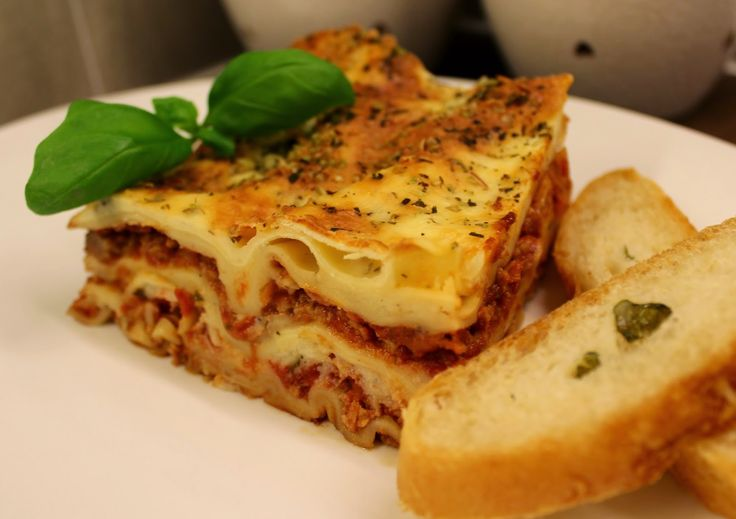 Storesøsters Kjøkken: Hjemmelaget Lasagne