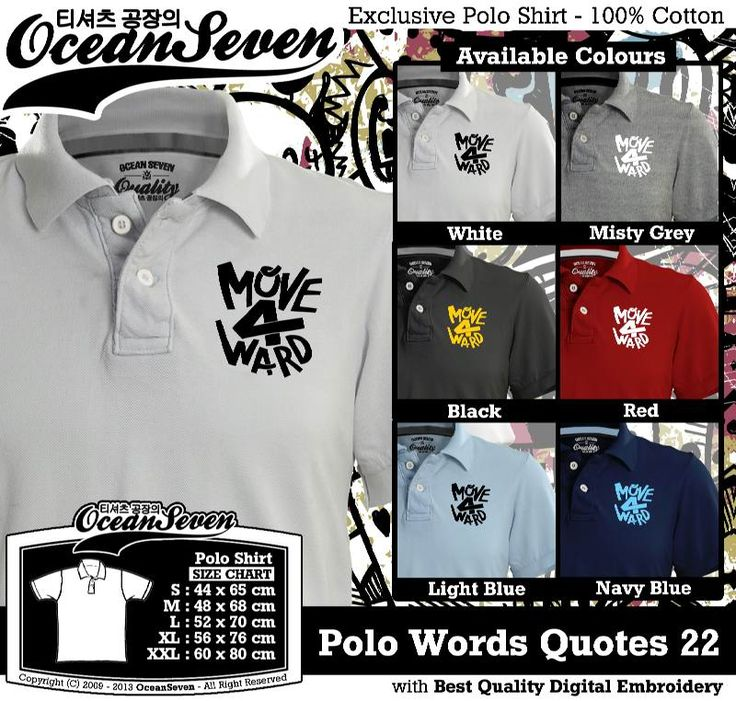 Kaos Polo Tulisan Unik | WORDS AND QUOTE SERIES 2