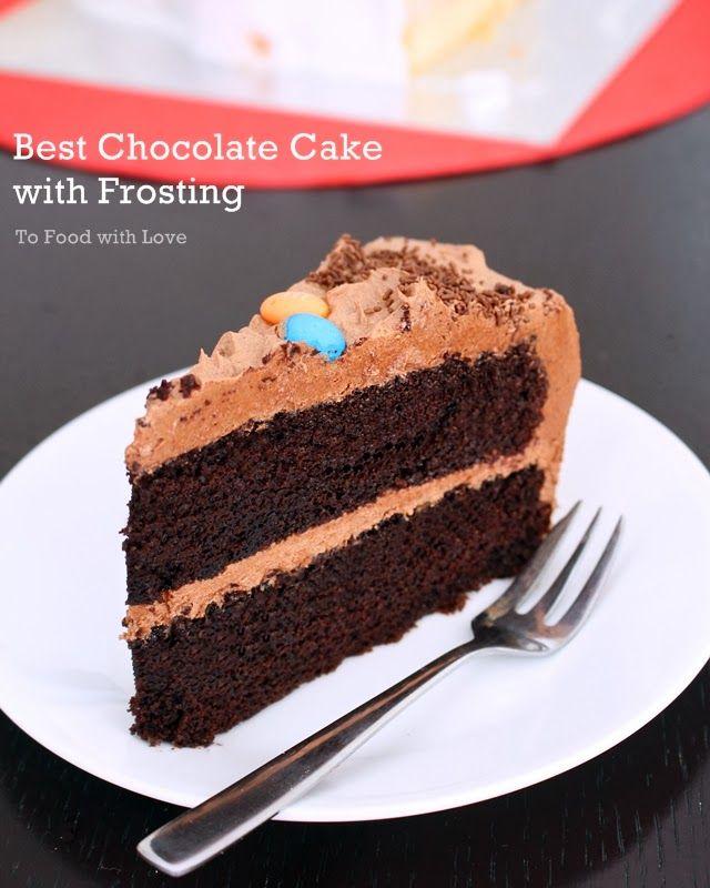 The Best Chocolate Cake Recipe!