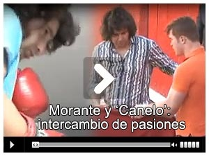 VIDEO: Morante y 'Canelo': intercambio de pasiones - Mundotoro.com #Mundotoro #toros #video