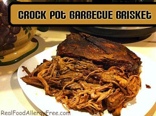 Crock Pot Barbecue Beef Brisket