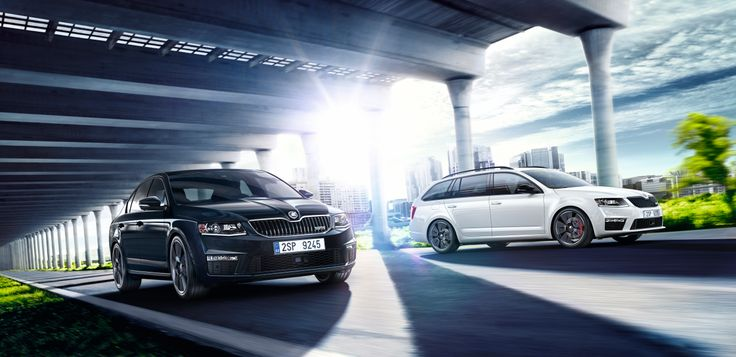 The new Octavia vRS Estate and Hatch. #SKODA #Octavia #vRS